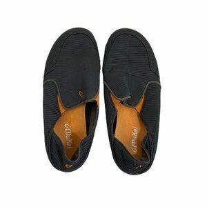 Olukai dark gray blue men's shoes